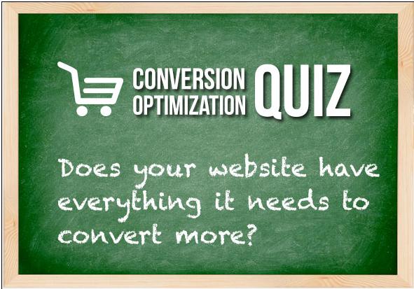 conversion optimization quiz