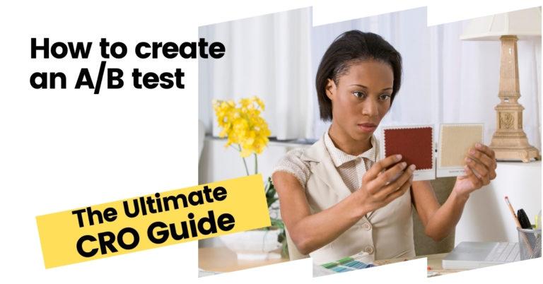 how to create an AB test