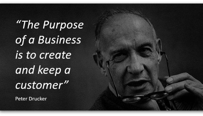 peter drucker the purpose of business