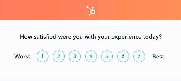 survey experience satisfaction
