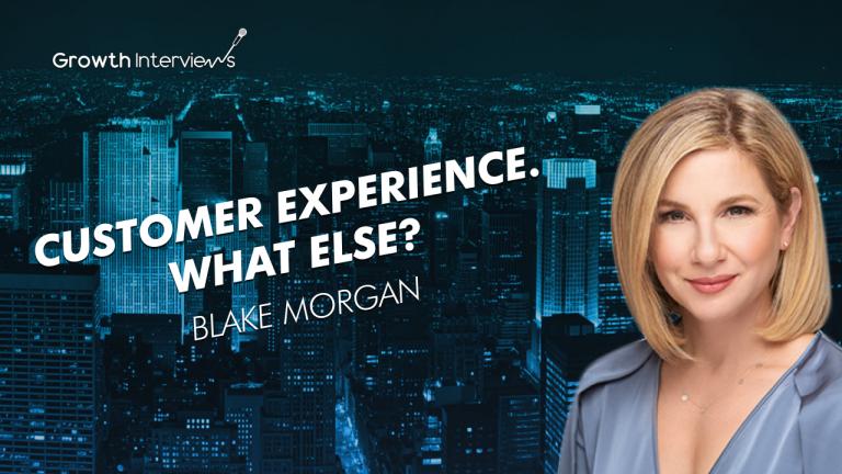 Blake Morgan podcast Customer experience