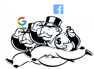 Facebook Google Monopoly